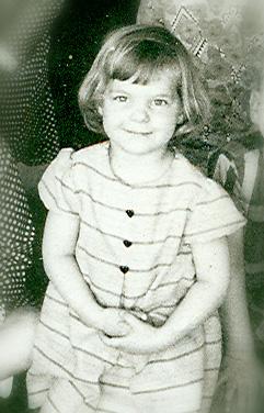 Kristin - around age 4