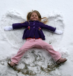 Marie the snow angel
