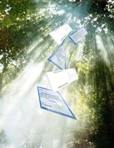 God speaks through postcards
